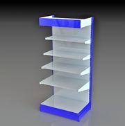 Оборудование для торговых стеллажей: полка,  стенка,  стойка,  усилитель